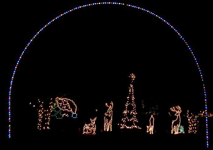 Fantasy Of Lights, Vasona Lake County Park