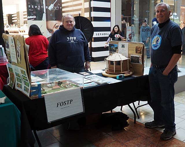 FOSTP Table at Oakridge Mall Senior Fair, 2/22/19