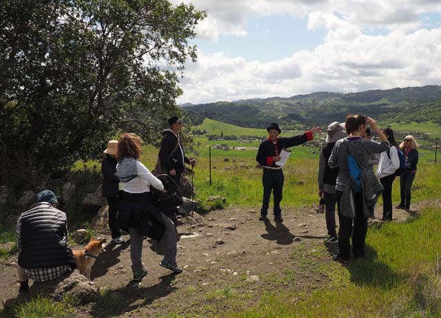 Stile Ranch Trail Hike, 3/25/18